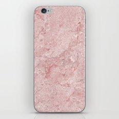 Blush Pink Marble iPhone Skin