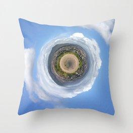 Tiny Planet Throw Pillow