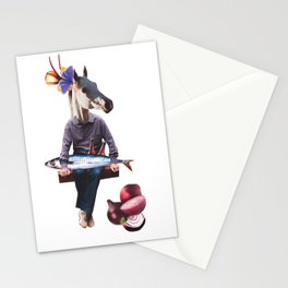 Just hanging out Stationery Cards