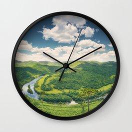 Pelotas Horseshoe Wall Clock