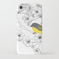 nashville iPhone & iPod Cases featuring Nashville Warbler by Art by Peleegirl