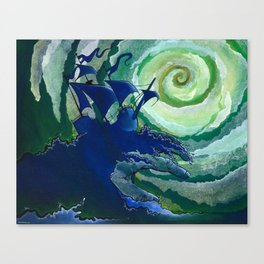 Rage Against Poseidon Canvas Print