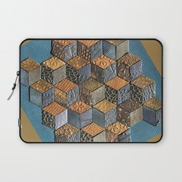 Tumbling Blocks #5 Laptop Sleeve