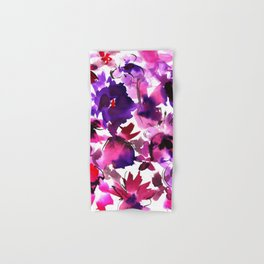 Sara Floral Pink Hand & Bath Towel