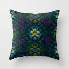 Variations on A Feather IV - Stars Aligned (Primeval Edition) Throw Pillow