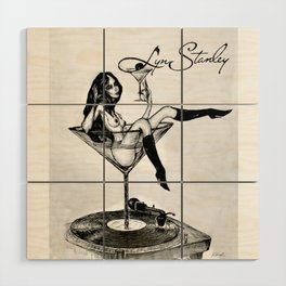 Lyn Stanley logo2 Wood Wall Art