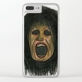 Good Hair Day Clear iPhone Case