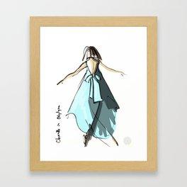 Chanelle in Odylyne Framed Art Print