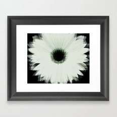 Into the Flower Framed Art Print