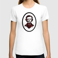 poe T-shirts featuring Poe by Brit Austin Illustration