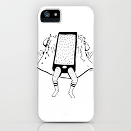 Trying to Focus, But... iPhone Case