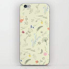 Woodland Wonders (Cilantro) iPhone Skin