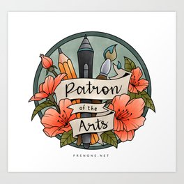 Patron of the Arts Art Print