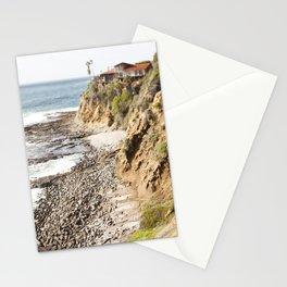 Cliffs Along the Palos Verdes Hills Stationery Cards