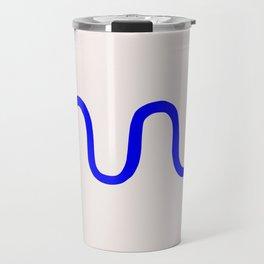 Abstract Shape Series - Squiggle Travel Mug
