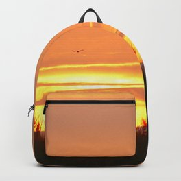 Bird at Sunset Backpack