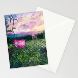 Keep the Evenings Long Stationery Cards