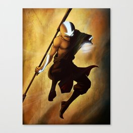 Aang avatar state Canvas Print