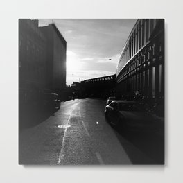 London in Monochrome Metal Print
