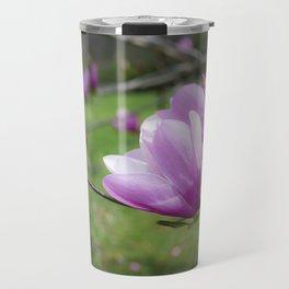 Tulip Flower on Tree Travel Mug