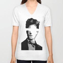Arthur Rimbaud Unisex V-Neck