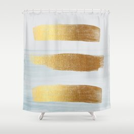 Golden sea Shower Curtain