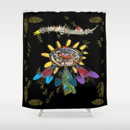 dream catchers dreaming Shower Curtain