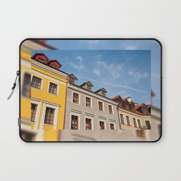 Tenement houses with attic in Lublin Laptop Sleeve