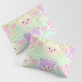 Llamacorn Colors Pillow Sham