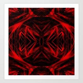 Abstract Caos Art Print