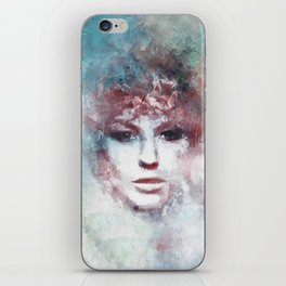 Girl face painting ART iPhone Skin