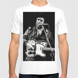 W-AY-LON ,JeN-NINGS  Way-lon Jennings Poster T-shirt