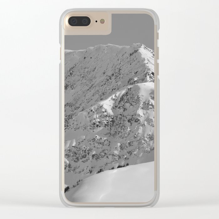 White as Snow Clear iPhone Case