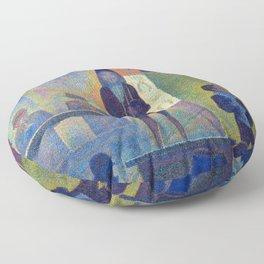 Georges Seurat Circus Sideshow Floor Pillow