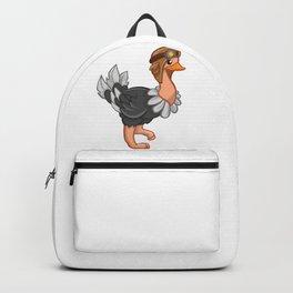 Cartoon Ostrich Backpack