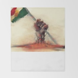 kurdistan Throw Blanket
