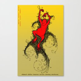 Chinese Zodiac Monkey Canvas Print