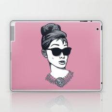 Audrey's glasses Laptop & iPad Skin