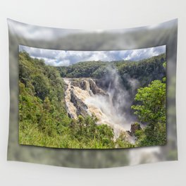 Magnificent Barron Falls Wall Tapestry