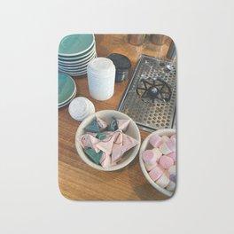 Coffee Cafe Counter Bath Mat
