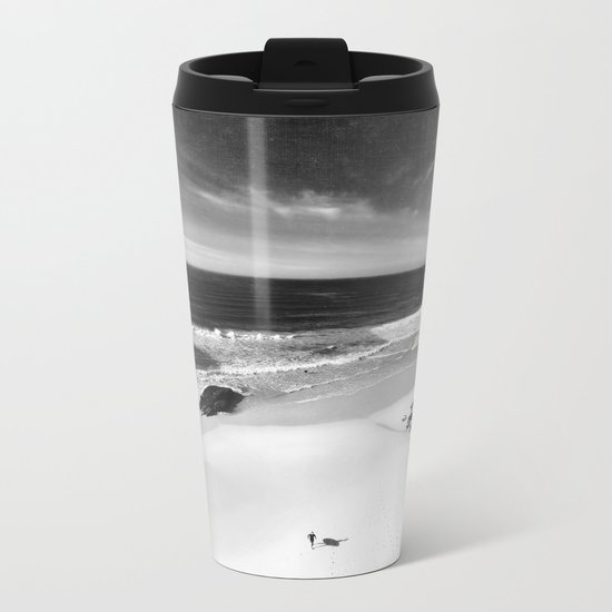 the surfer Metal Travel Mug
