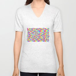 Drops Of Rainbow Unisex V-Neck