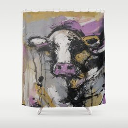 New Breed Cow 1 Shower Curtain