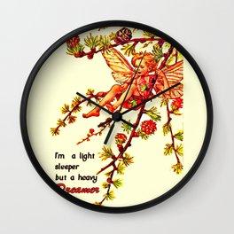 Heavy dreamer Wall Clock