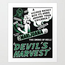 Devil's Harvest Art Print