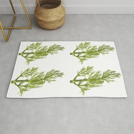 Dill Plant Rug