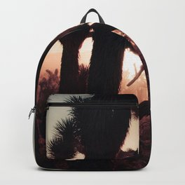 Joshua Trees at Sunset Backpack