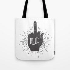 HELLO ASSHOLE Tote Bag