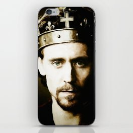 """King Henry V """"Uneasy lies the head that wears a crown.."""" iPhone Skin"""