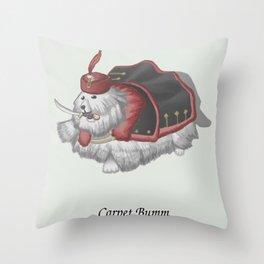 Carpet Bumm Throw Pillow